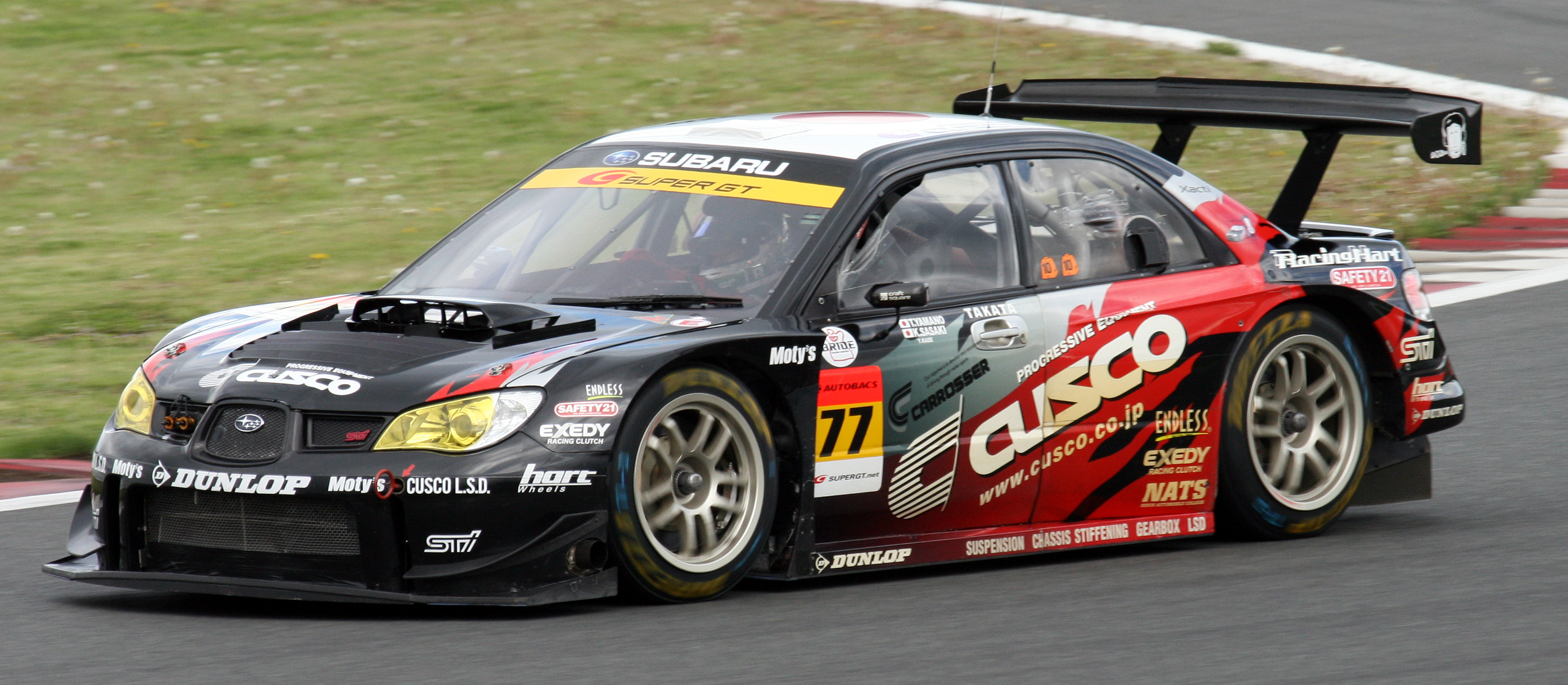 Cusco's Impreza in GT300