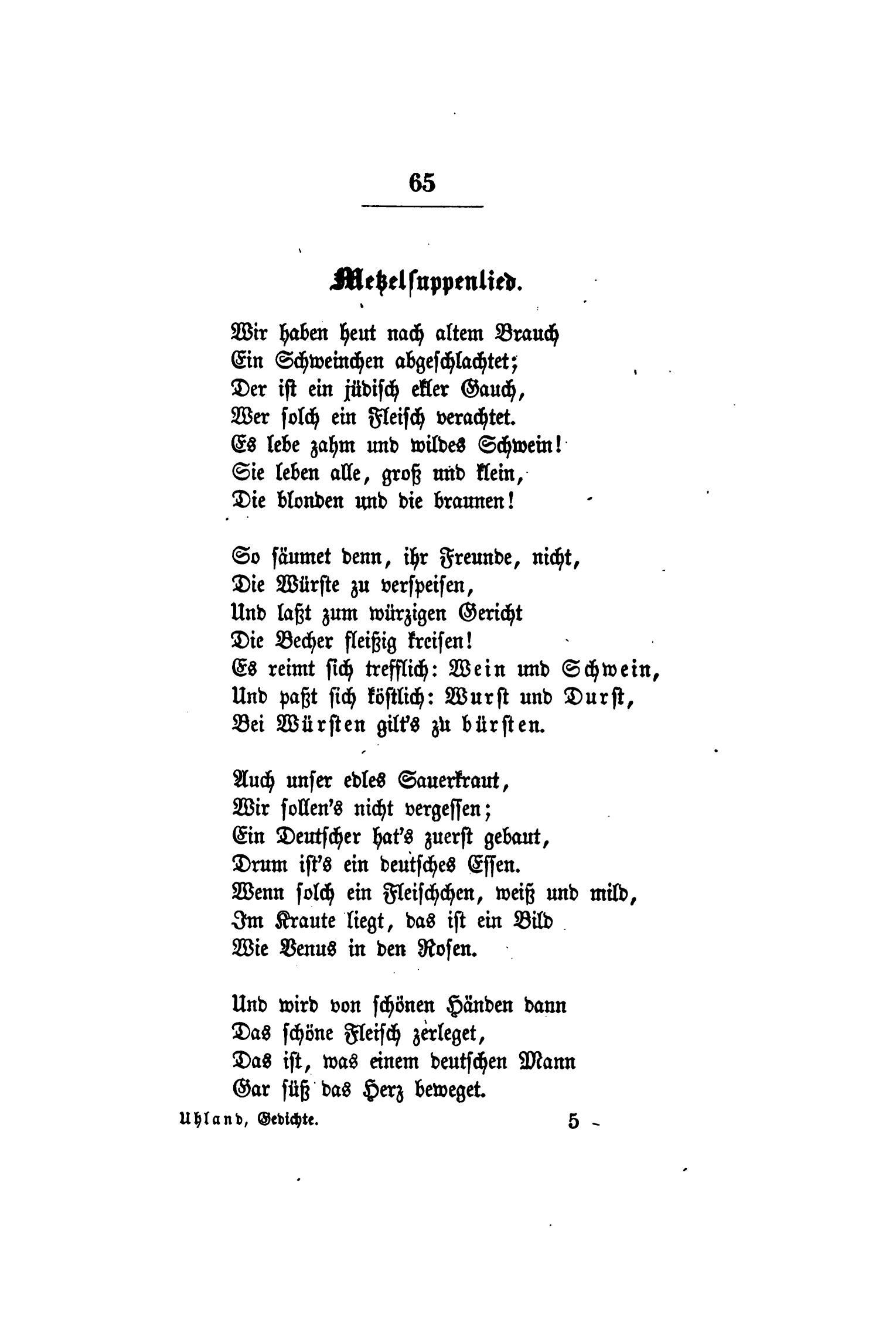 Gedichte zum 30