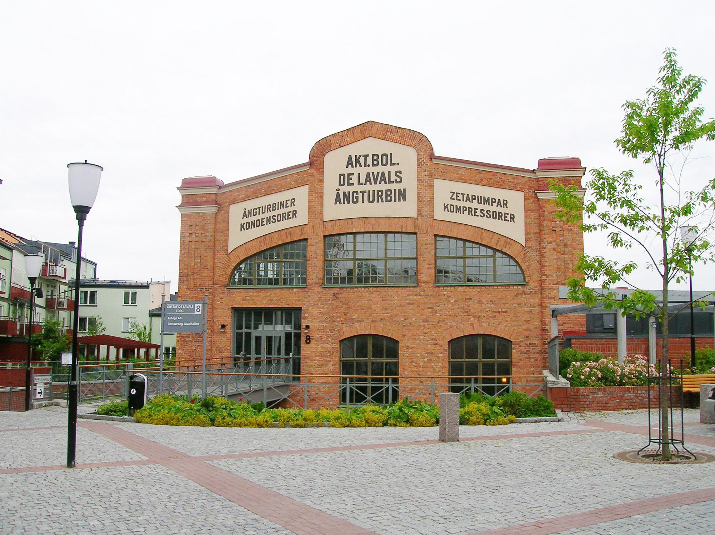 File De Lavals ¥ngturbinfabrik Järla Nacka 2005 07 31