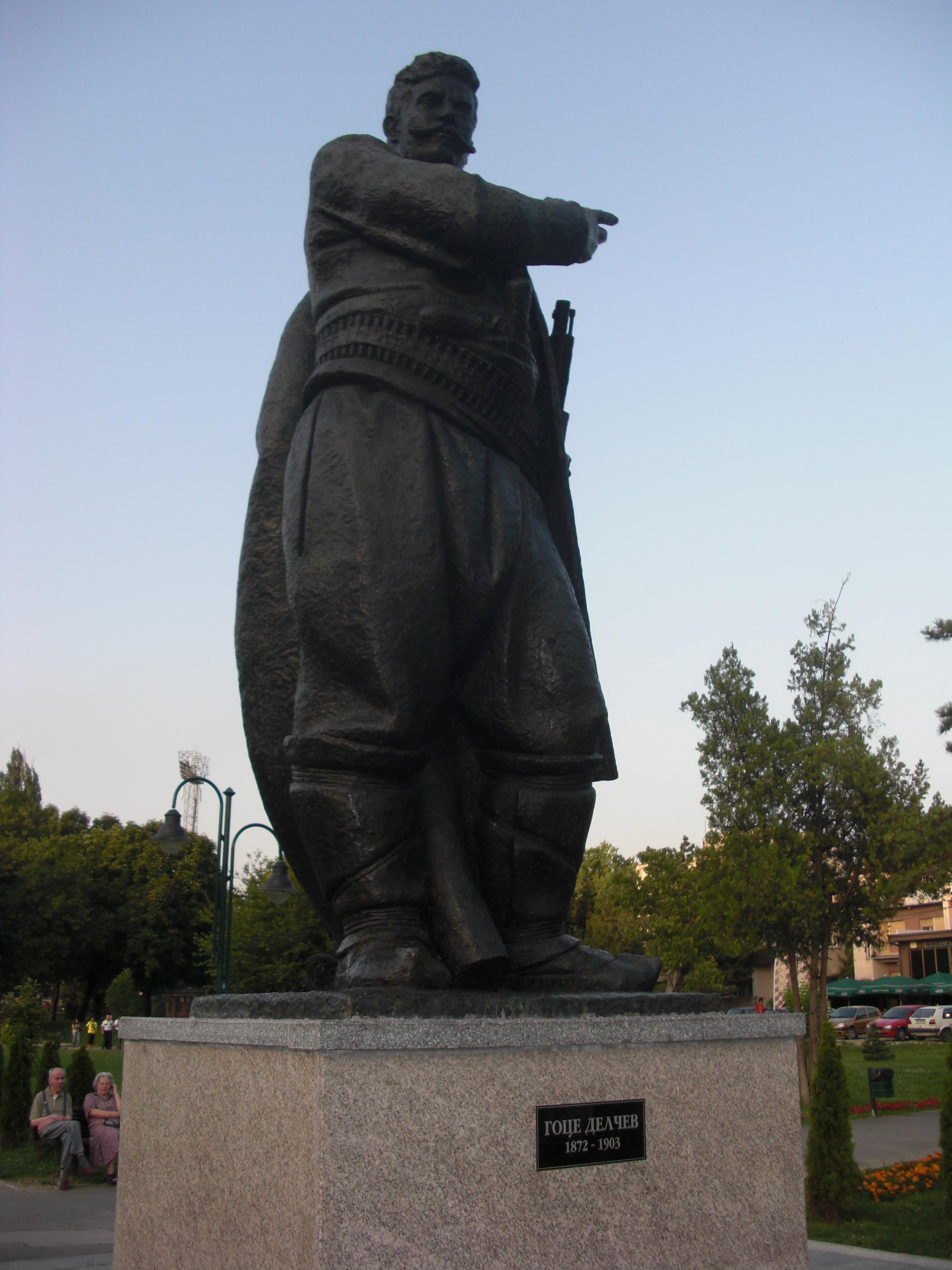 Spomenik Na Goce Delchev Gradski Park Skopјe Vikipediјa