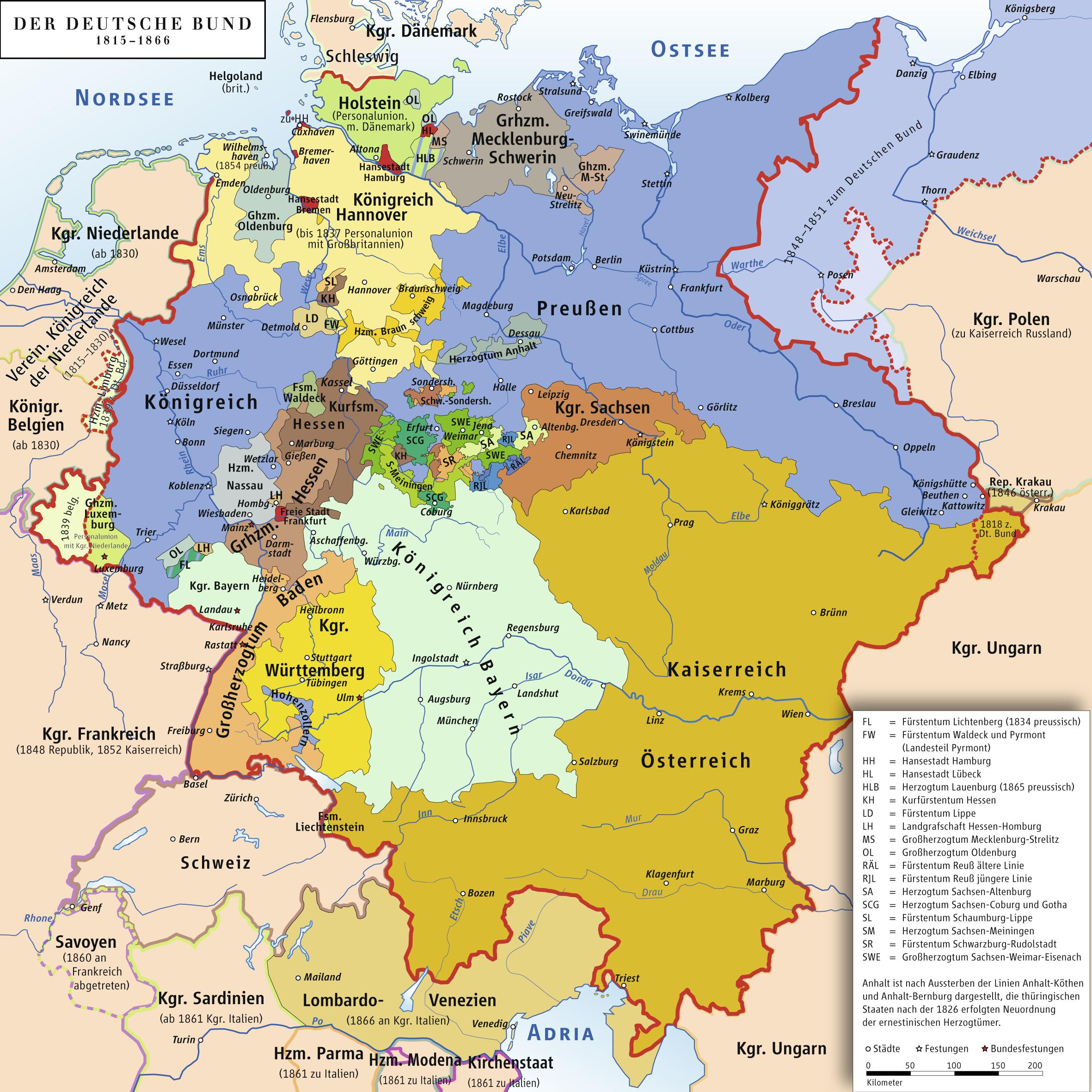 landkarte deutschland 1848 Atlas of Germany   Wikimedia Commons