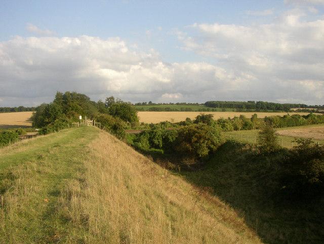 Devil's Ditch near Newmarket, Suffolk - geograph.org.uk - 49045