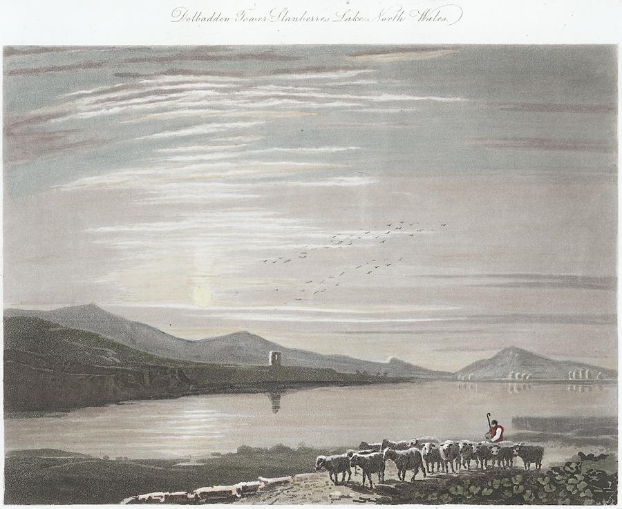 Dolbadden Tower, Llanberes Lake, North Wales