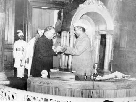 Image result for ambedkar and rajendra prasad