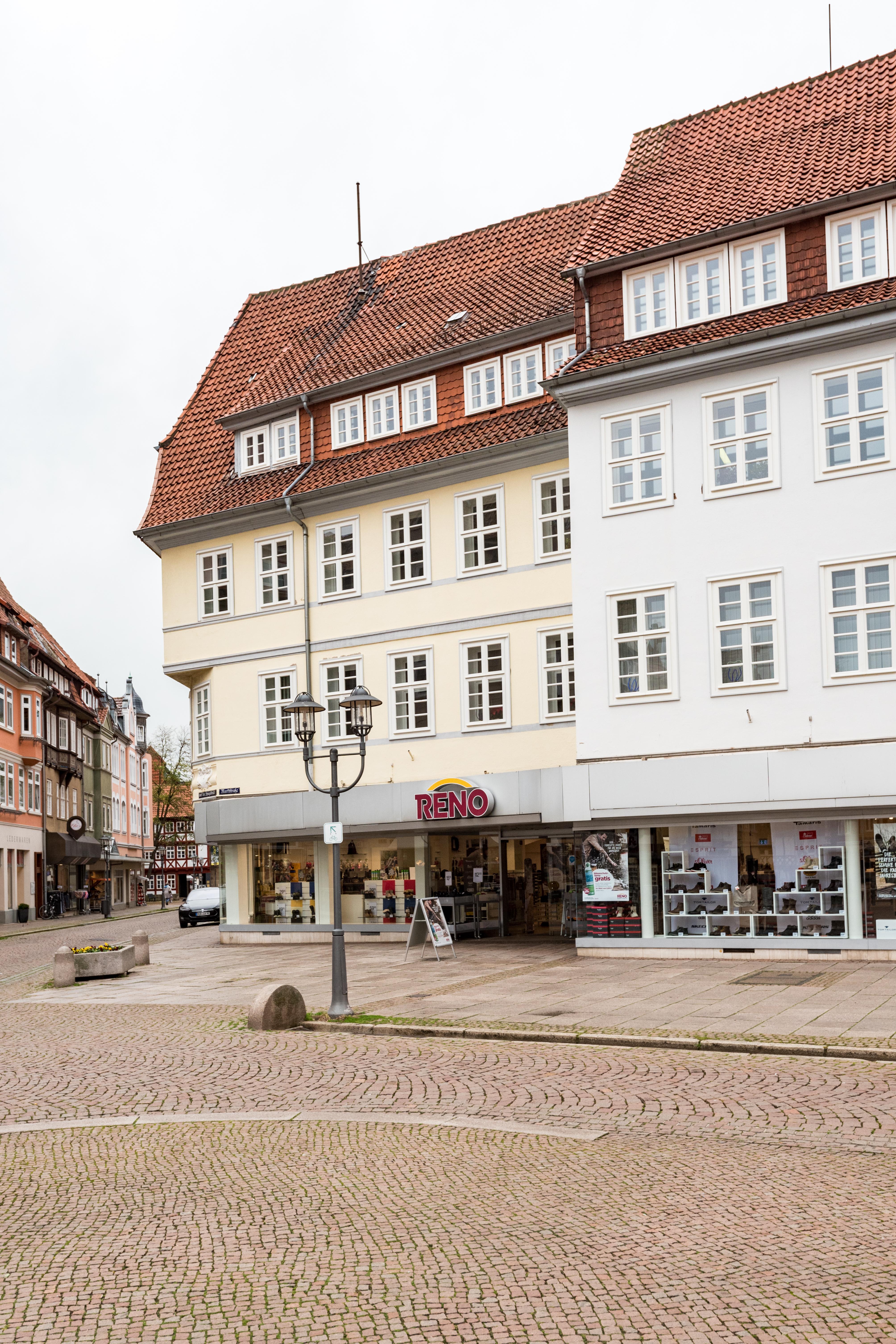 Datei:Duderstadt, Auf der Spiegelbrücke 2, Ansicht