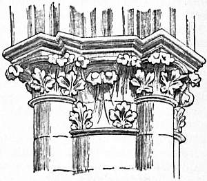 Gothic Capitals From Amiens Cathedral