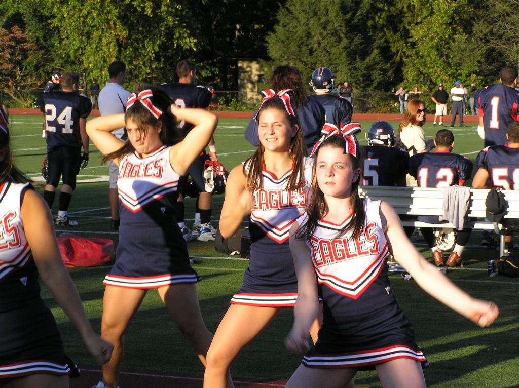 High School Cheerleaders Candid http://en.wikipedia.org/wiki/File:Eastchester_High_School_Cheerleaders_1024.jpg