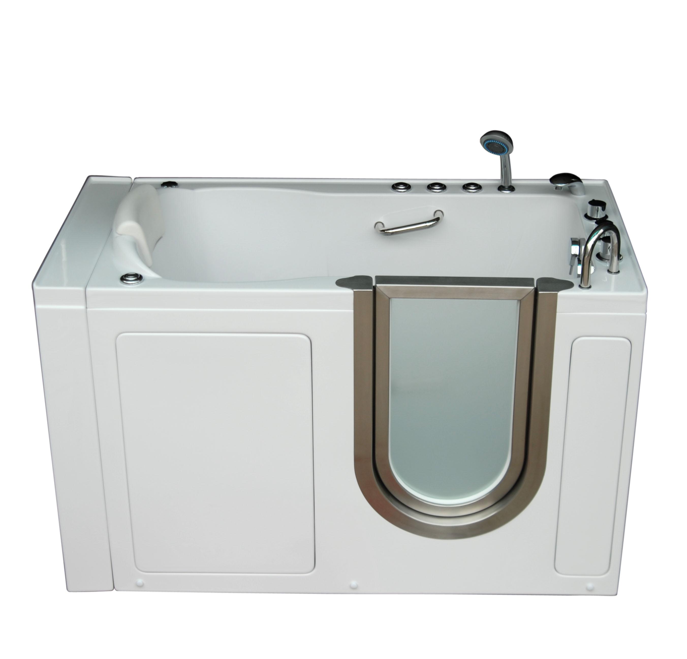 Compact Walk In Tubs Model Bathtub For Seniors Amp