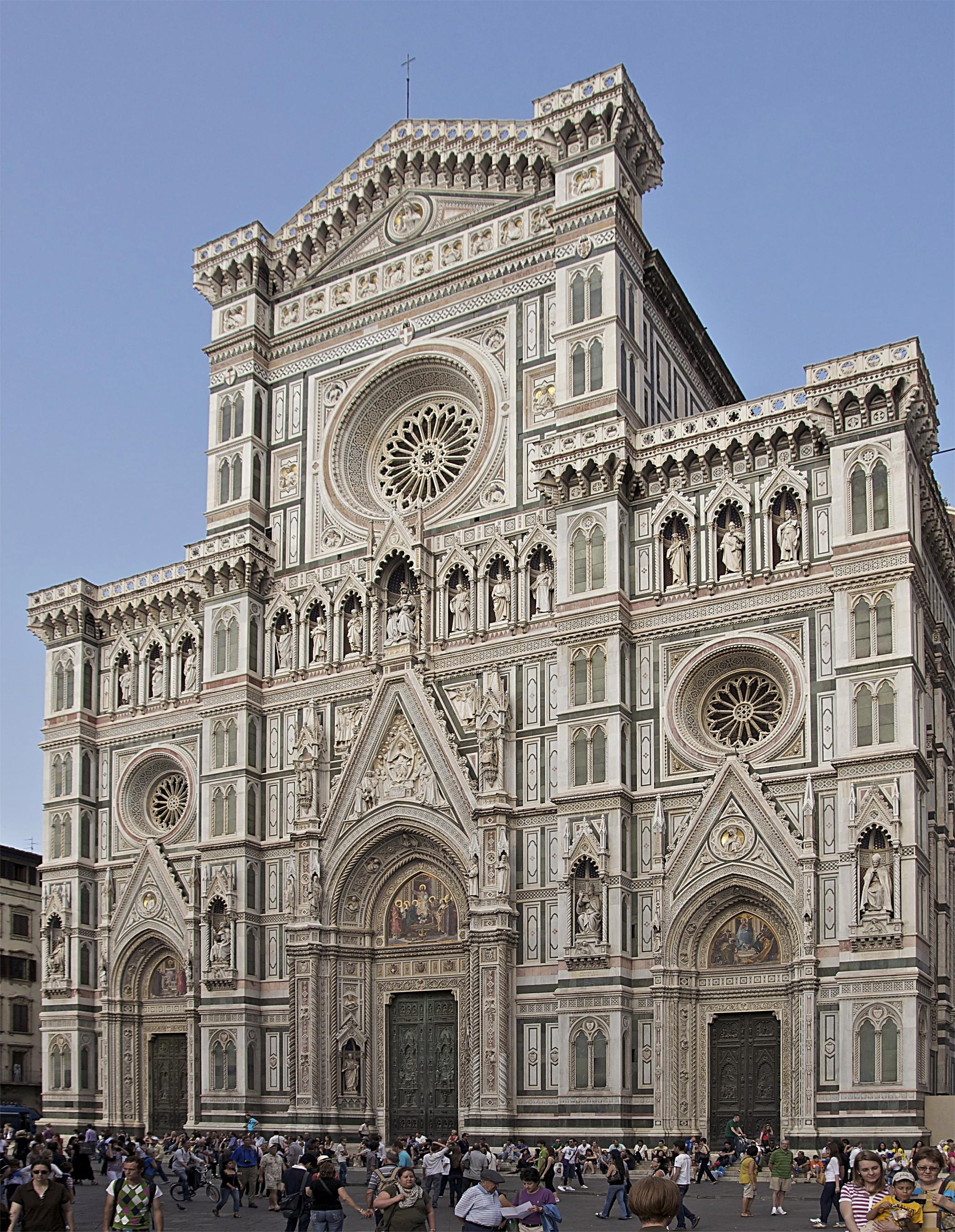 File:Façade cathédrale Florence.jpg - Wikimedia Commons
