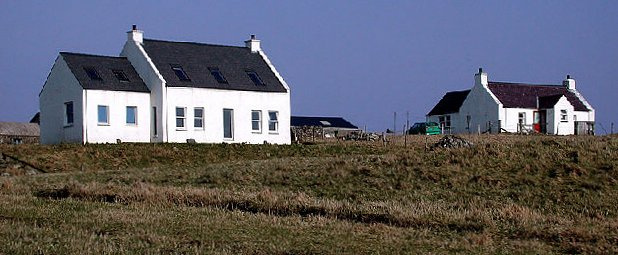 File:Fair Isle - Croft houses.jpg