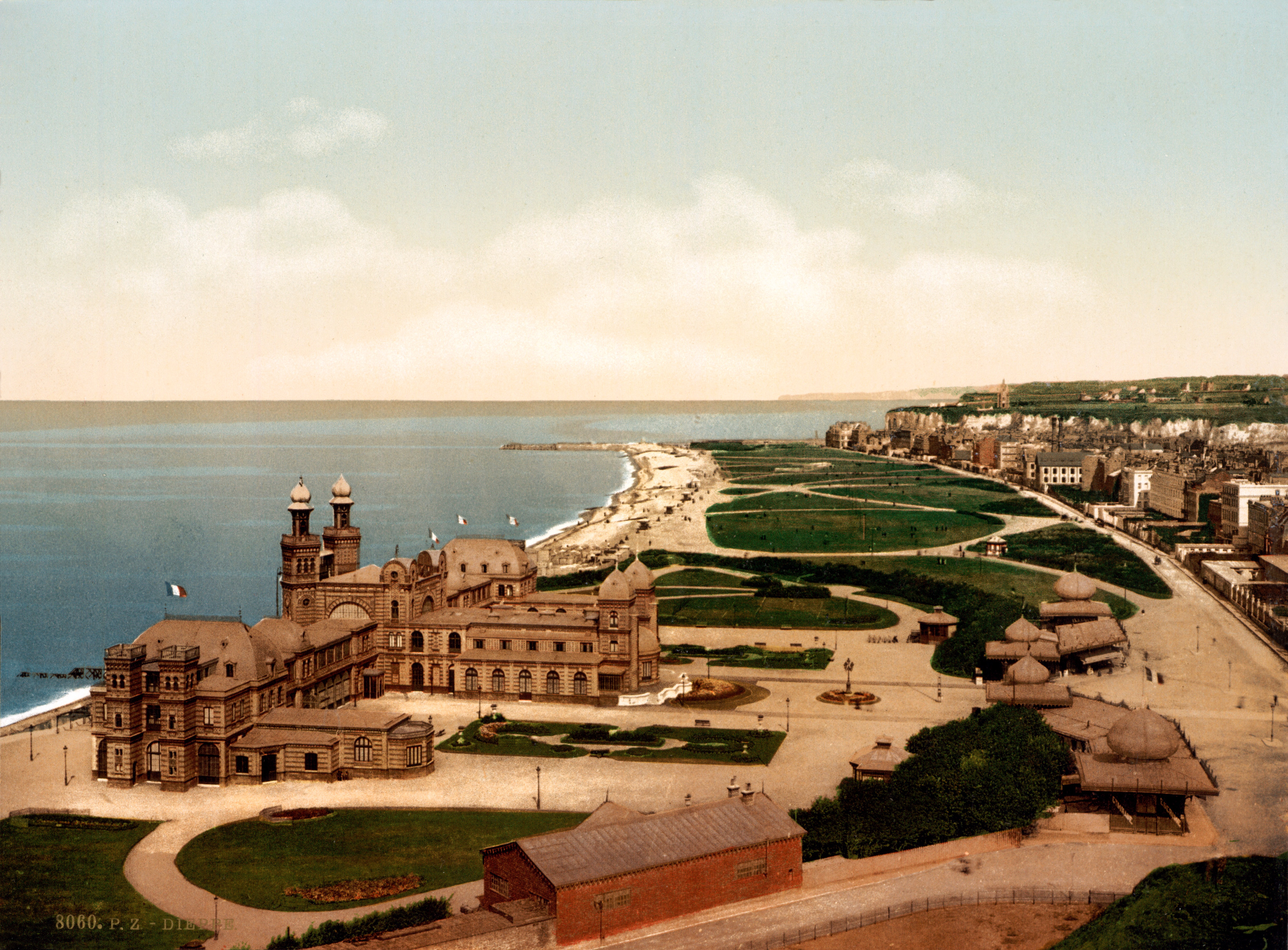 PHOTO ANCIEN CASINO DIEPPE