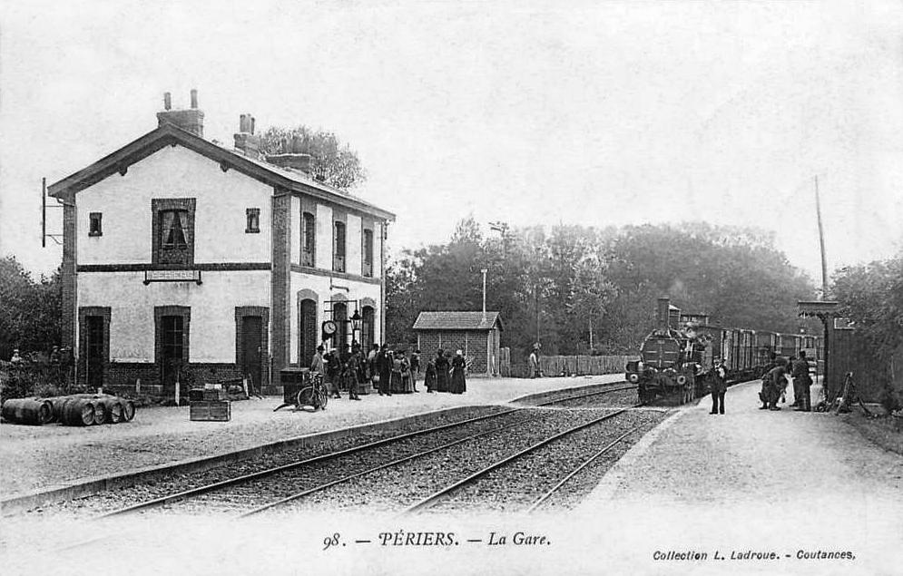 Gare de p riers en cotentin wikip dia for Ancienne maison des gardes lourmarin
