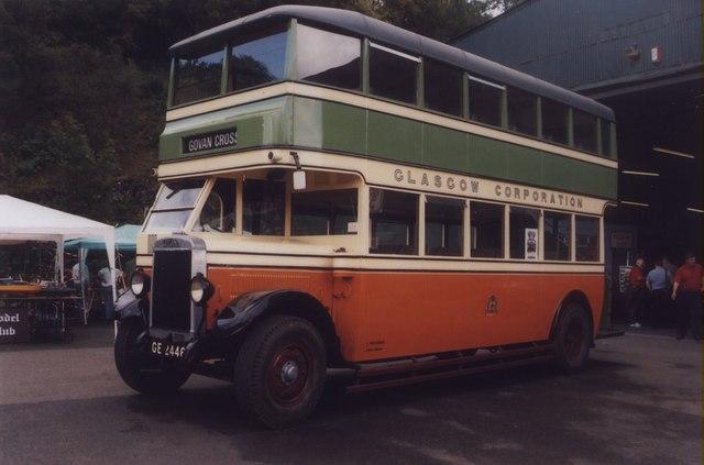 Image result for Glasgow buses 1940