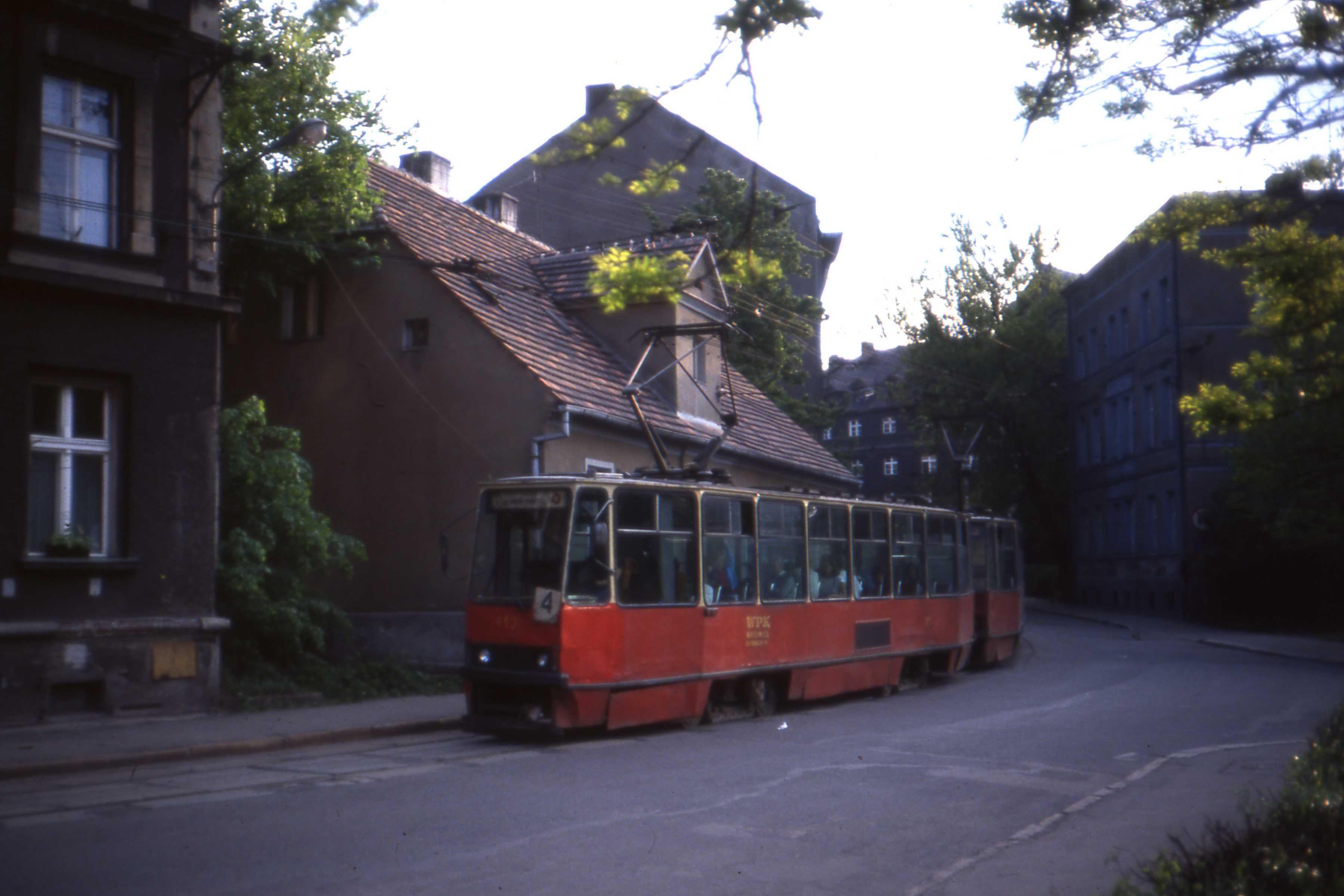 Gliwice Poland  city photo : Gliwice,Poland. Konstal WPK Katowice 105Na car nr.413, Wójtowa ...