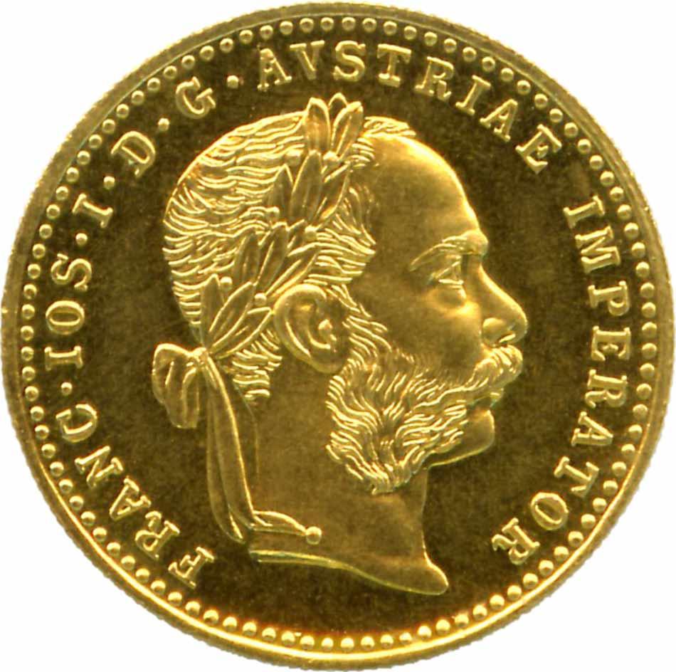 1 Dukaten (986er) 3,49 Gr. <br>Quelle und copyright:Wikipedia 2011