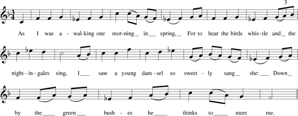 Green Bushes (sheet music).png