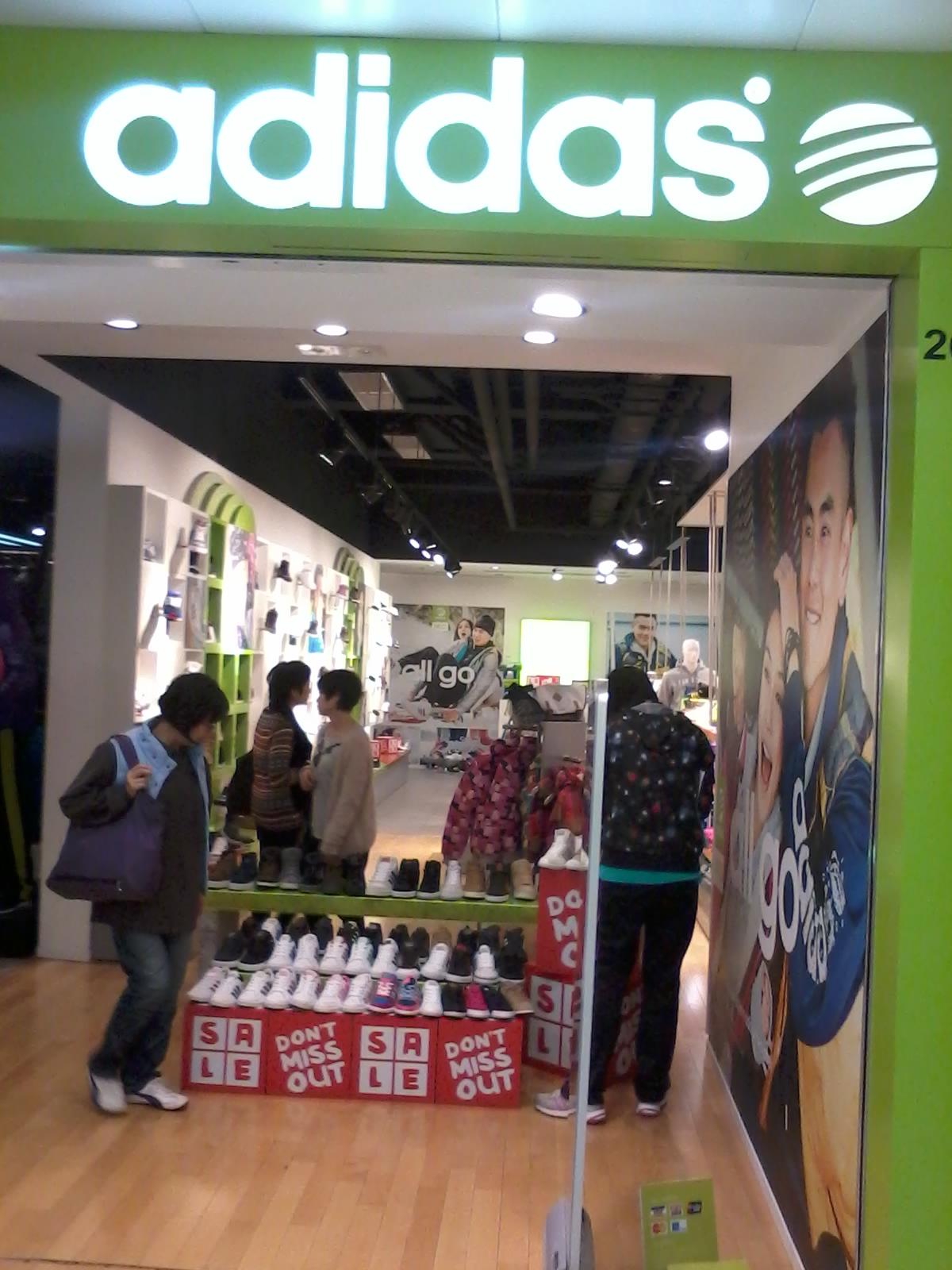 adidas store locator japan