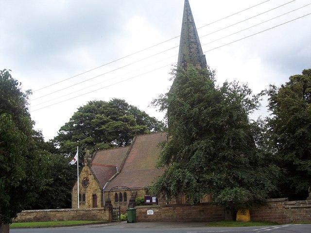 Holy Cross Church, Swainby - geograph.org.uk - 517158