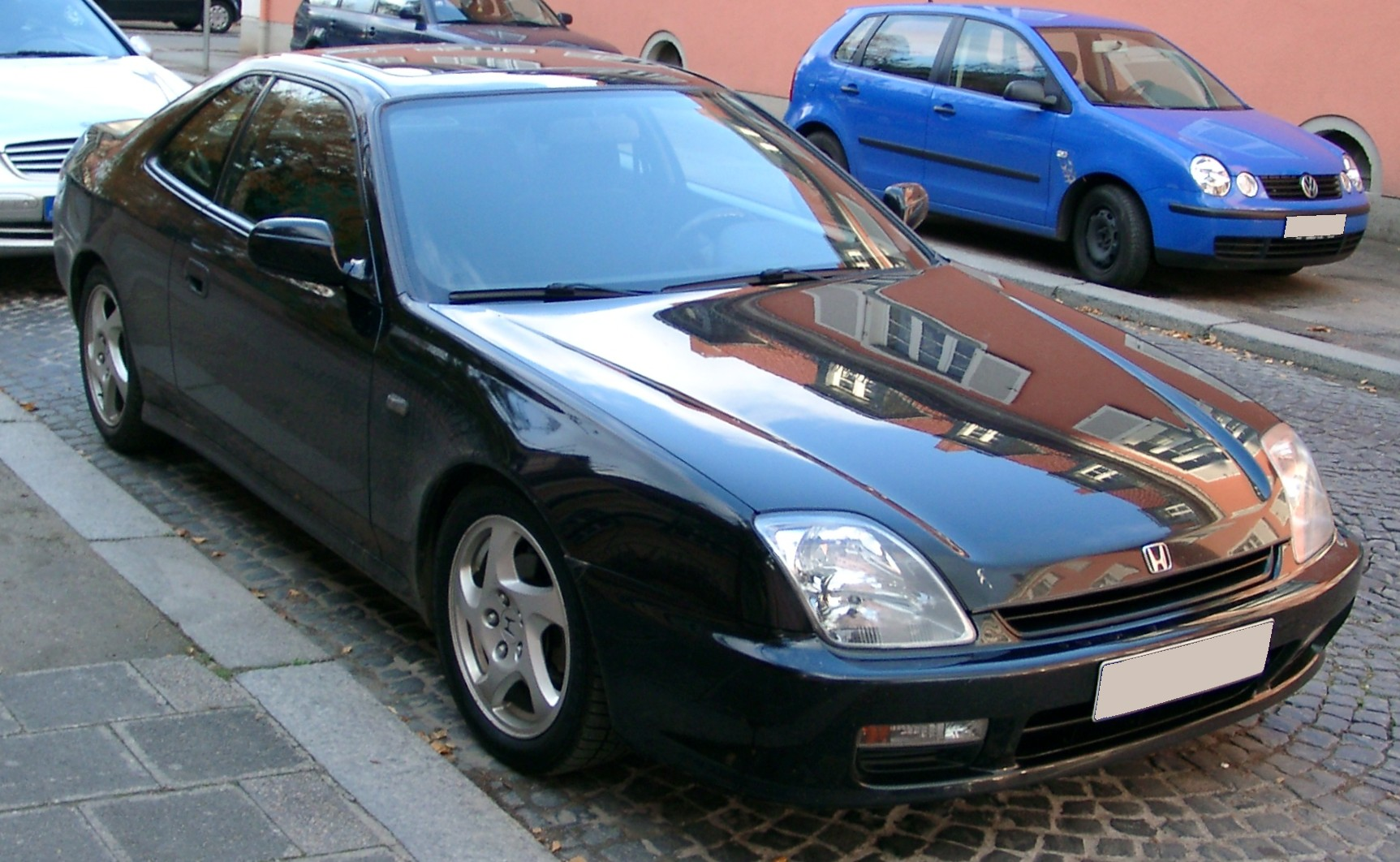 Honda Prelude Wiki >> File:Honda Prelude front 20071115.jpg - Wikimedia Commons