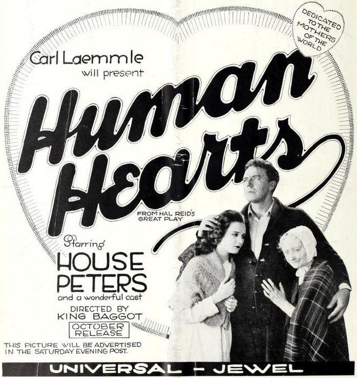 Human Hearts (film) FileHuman Hearts 1922 Ad 2jpg Wikimedia Commons