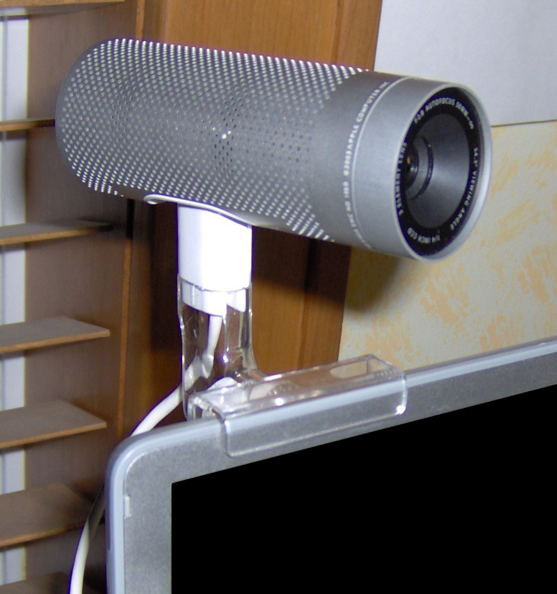 File:ISight-mounted-on-PowerBook.jpg - Wikimedia Commons