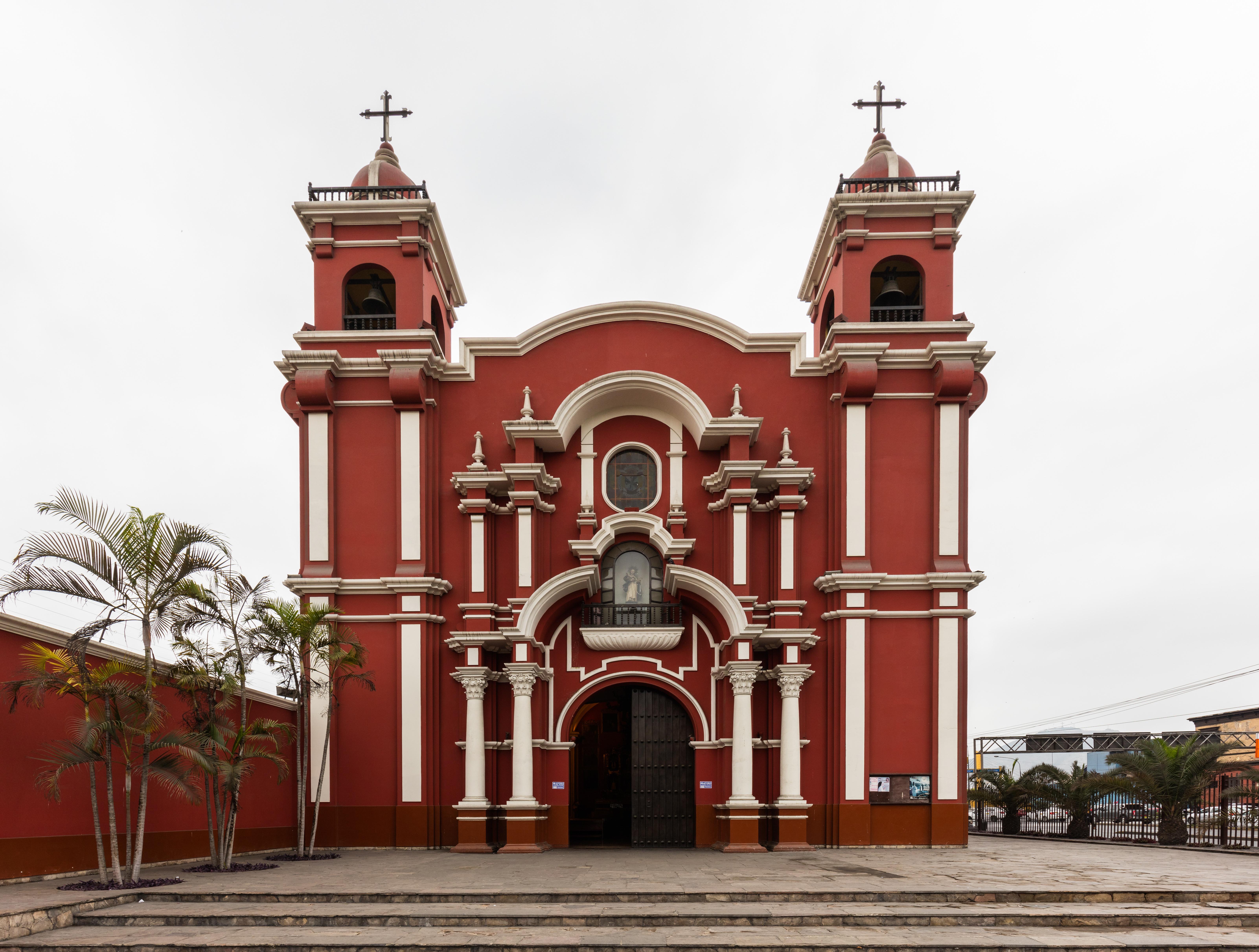 Santuario De Santa Rosa De Lima Wikipedia La Enciclopedia Libre
