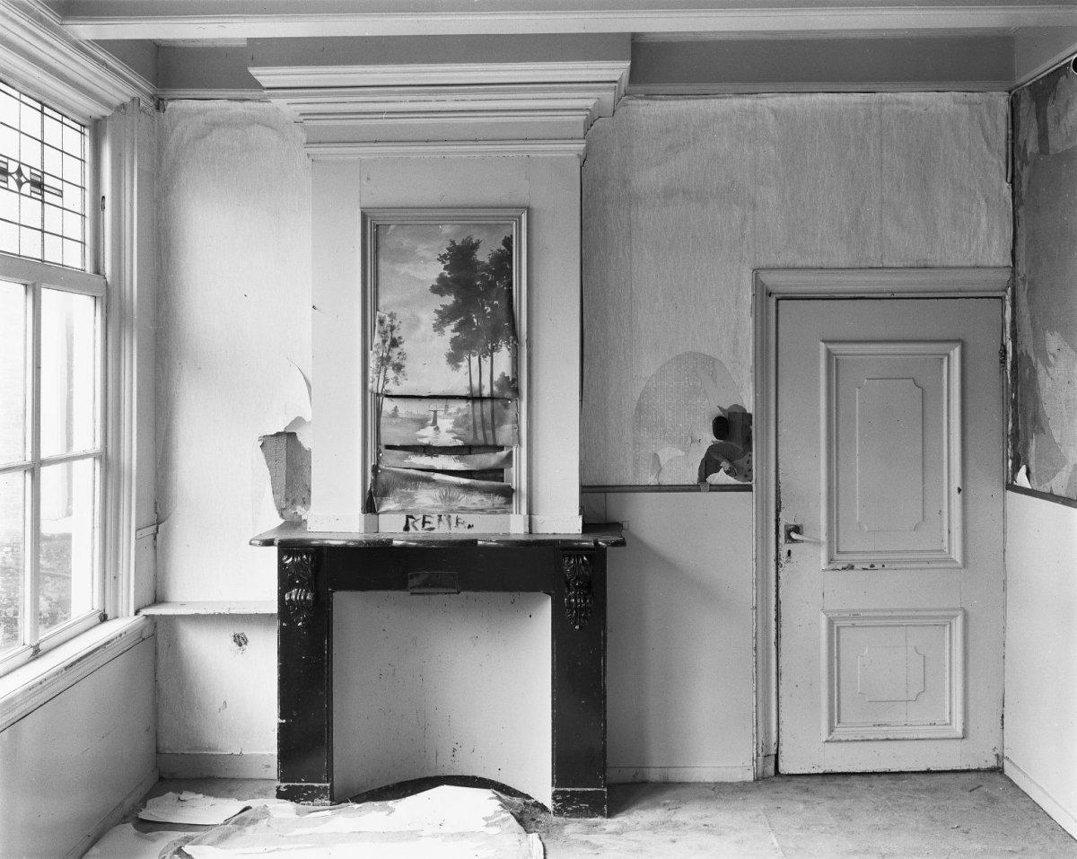 File interieur kamer in achterhuis schouw met for Kamer interieur