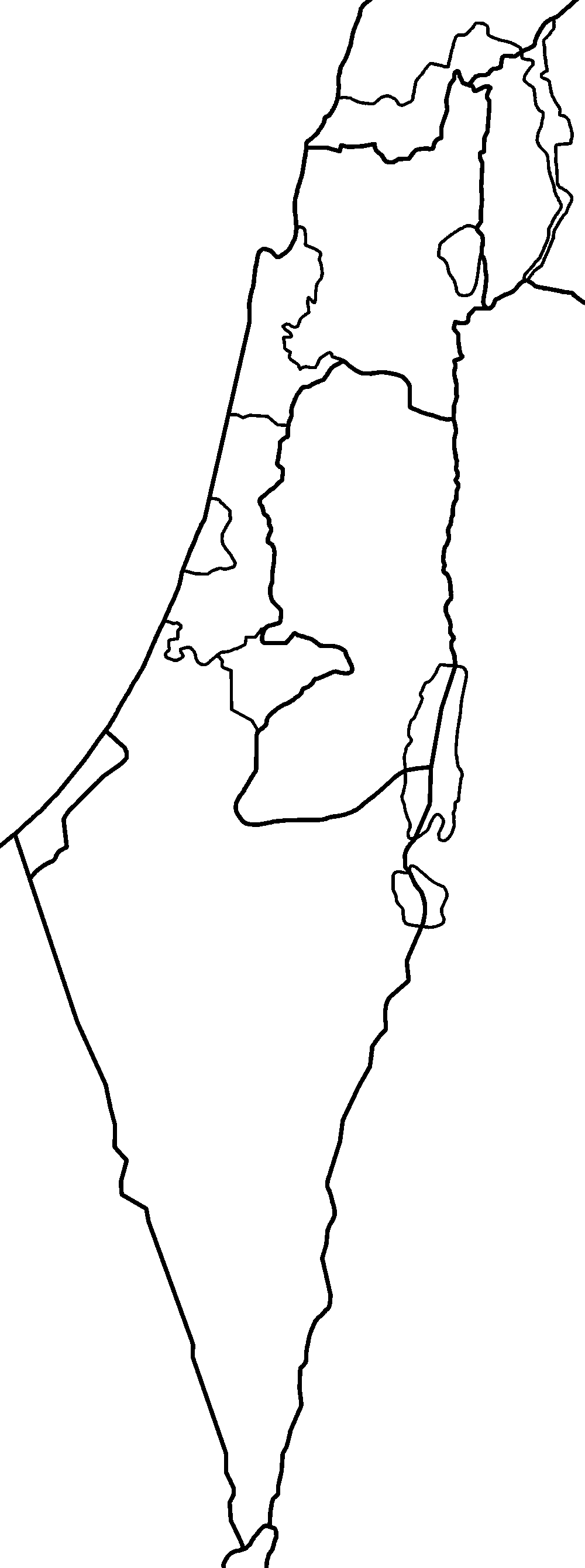 Picture of: File Israel Districts Blank Png Wikimedia Commons