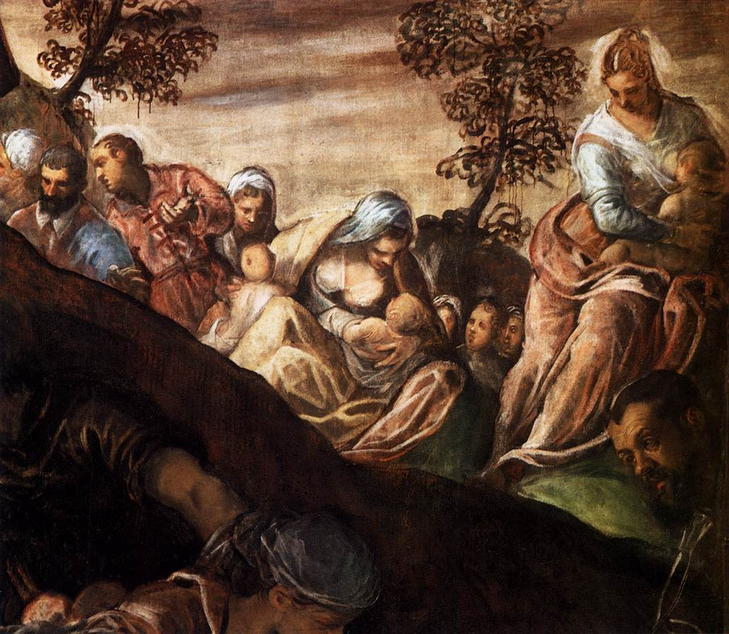 File jacopo tintoretto the miracle of the loaves and for Miracle of the loaves and fishes