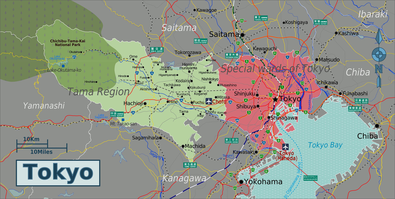 Japan Map Pdf - Japan map pdf
