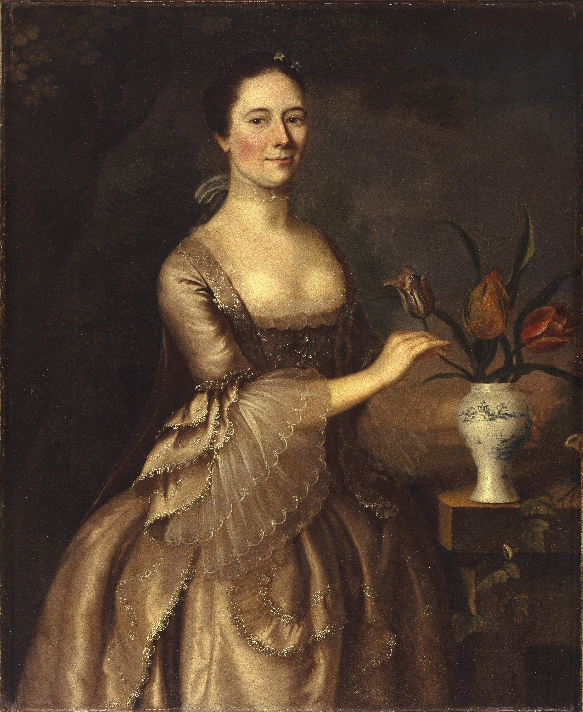 File:Joseph Blackburn - Portrait of a Woman - Google Art