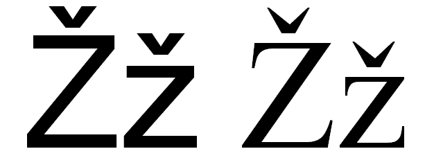 File Latin Letter Žž Png Wikimedia Commons