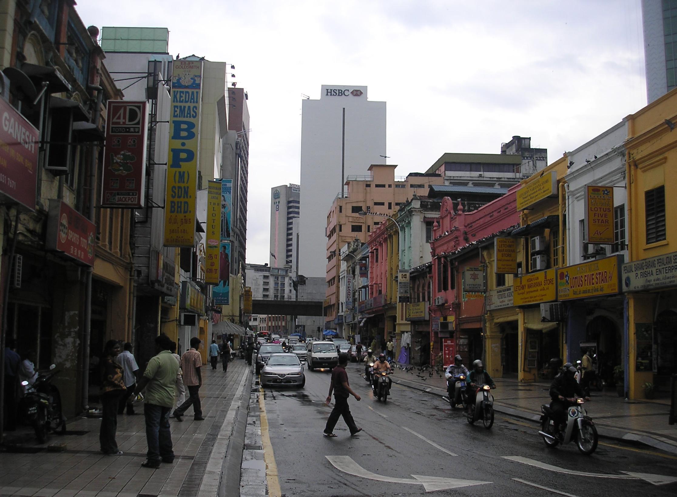 File Lebuh Ampang Ampang Street Between Jalan Tun Perak