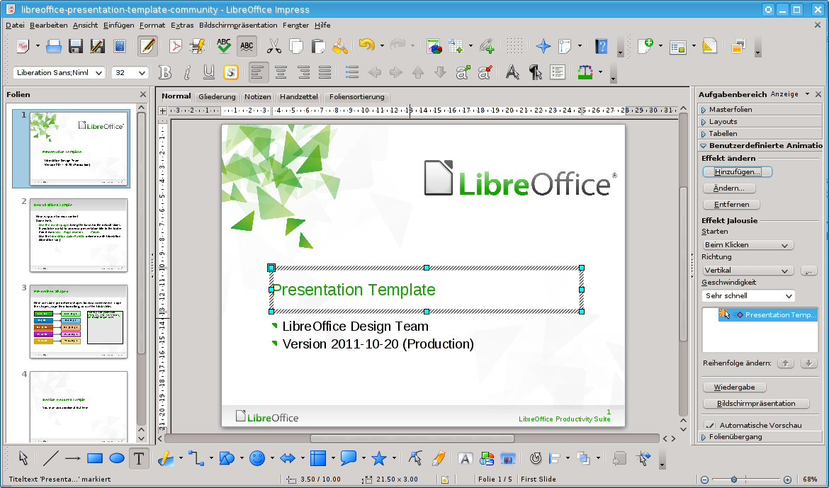 Ic3 presentation software wikiversity for Openoffice impress templates free download
