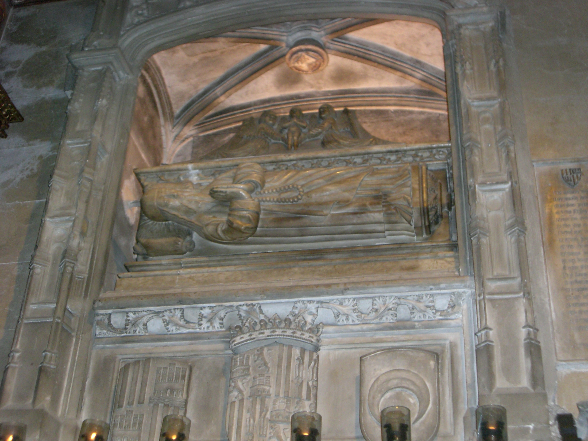 Sepulcro de Ramon Llull en el convento de San Francisco (Palma de Mallorca).