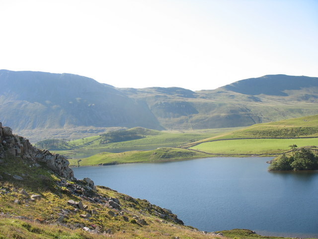Llynnau Cregennen in the early morning - geograph.org.uk - 371080
