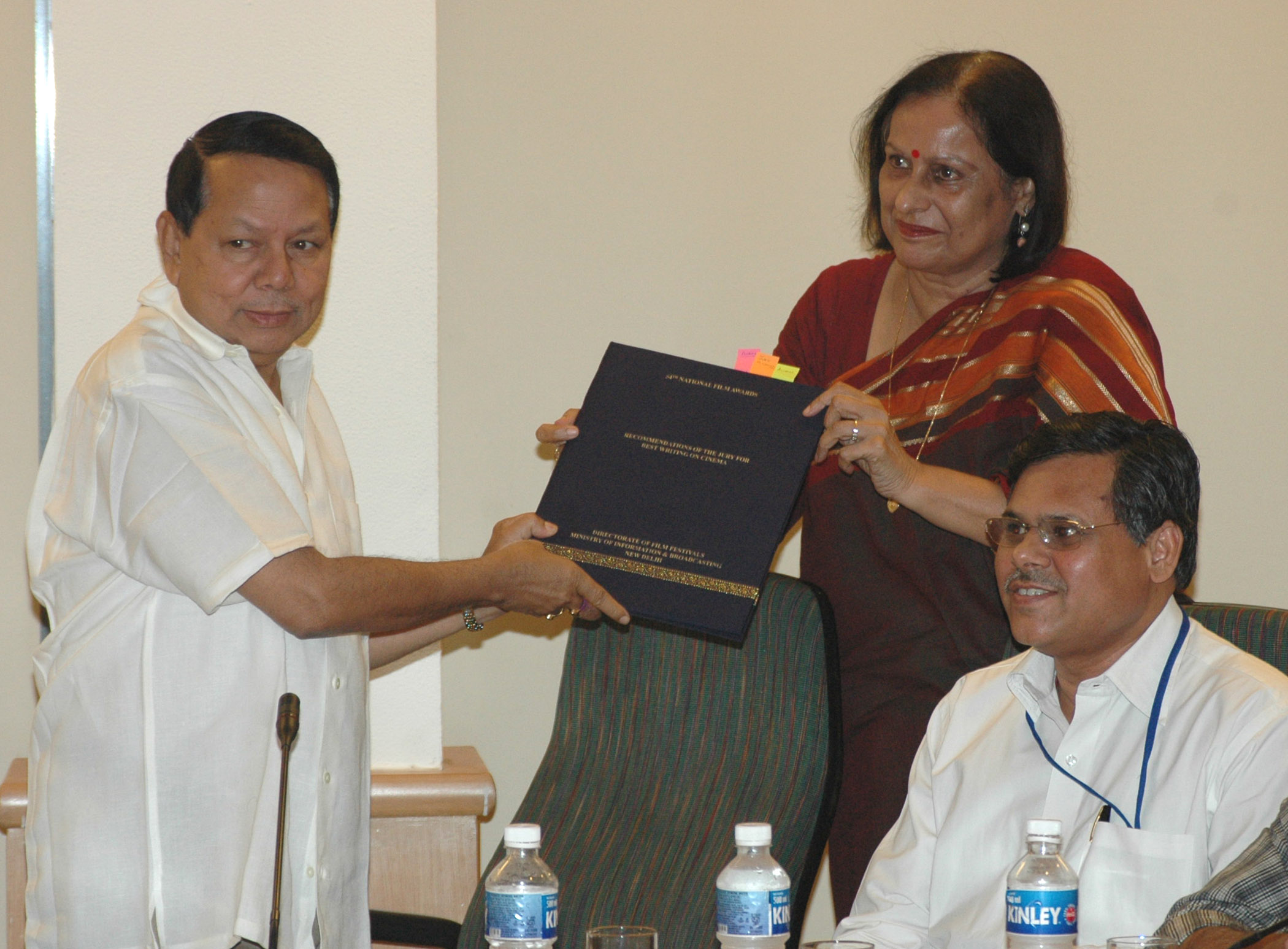 File:Madhu Jain submitting her report on her recommendation