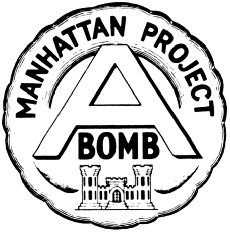 Unofficial emblem of the Manhattan project, 1946