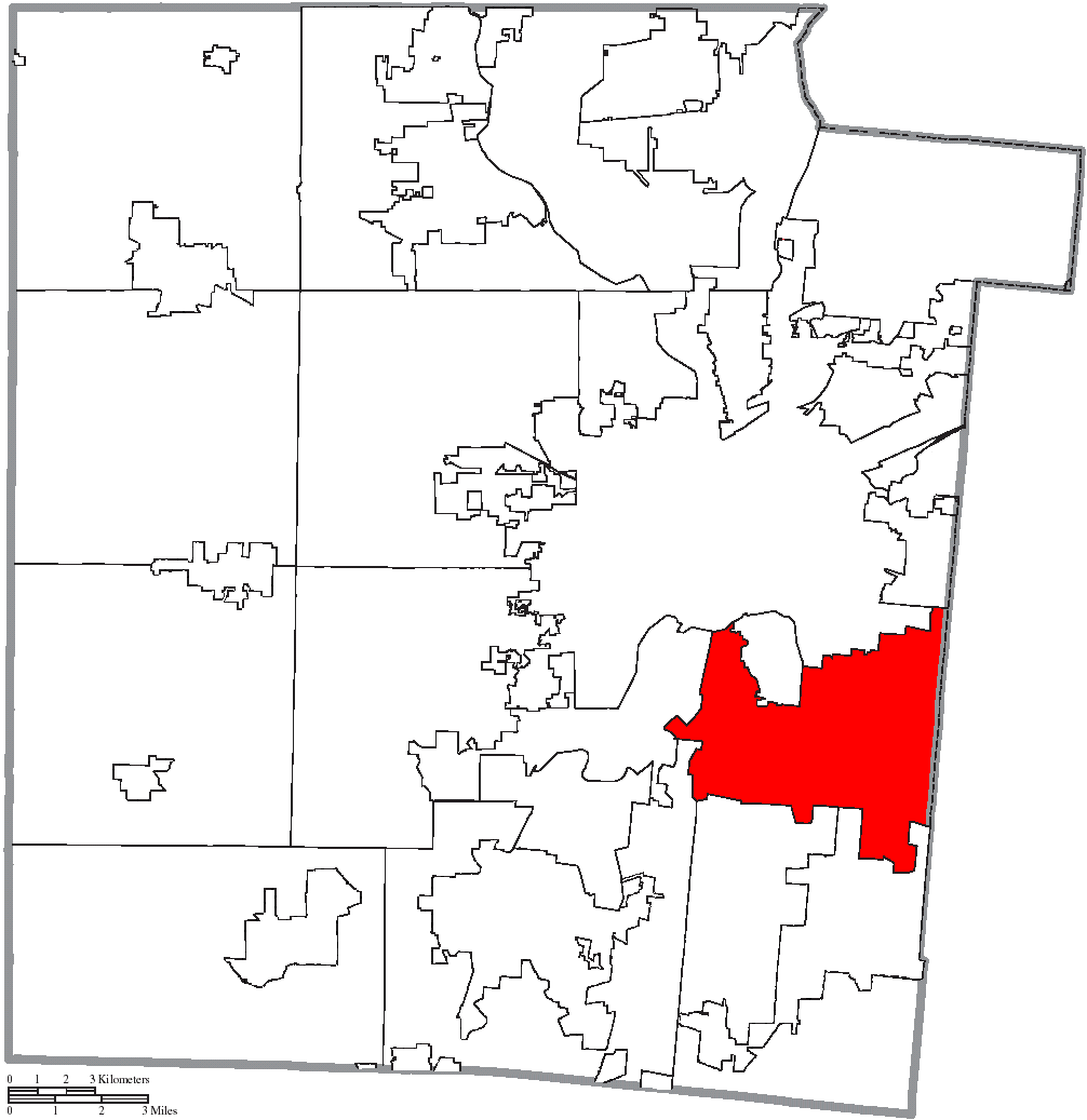 File Map Of Montgomery County Ohio Highlighting Kettering City Png