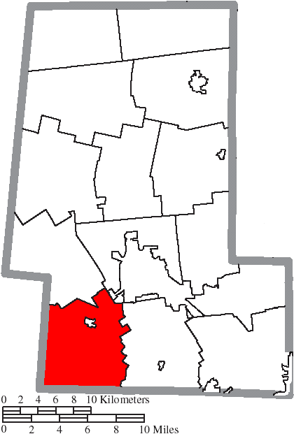 FileMap of Union County Ohio Highlighting Union Townshippng