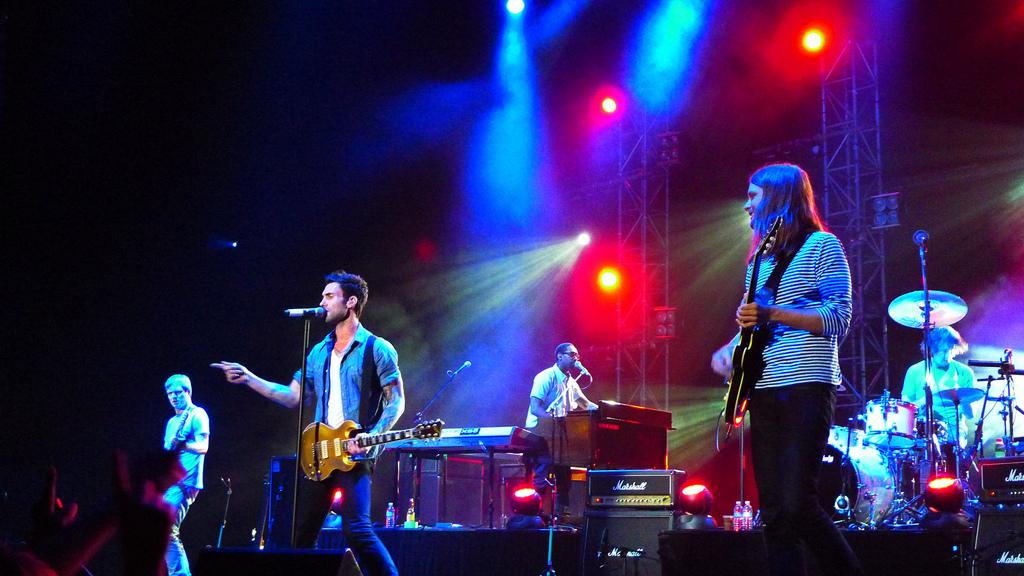 maroon 5 live Gallery