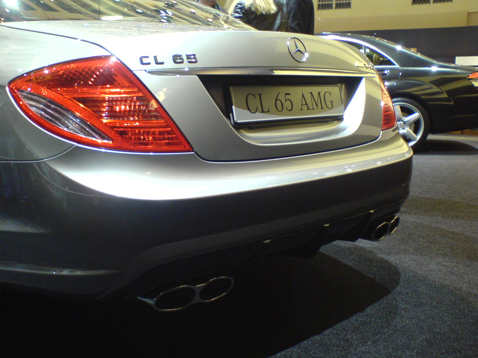 File Mercedes Benz Cl 65 Amg Back Jpg Wikimedia Commons