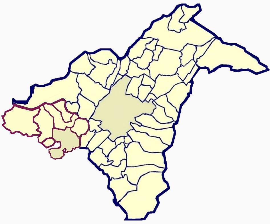 مناطق 55 گانه استان آتن