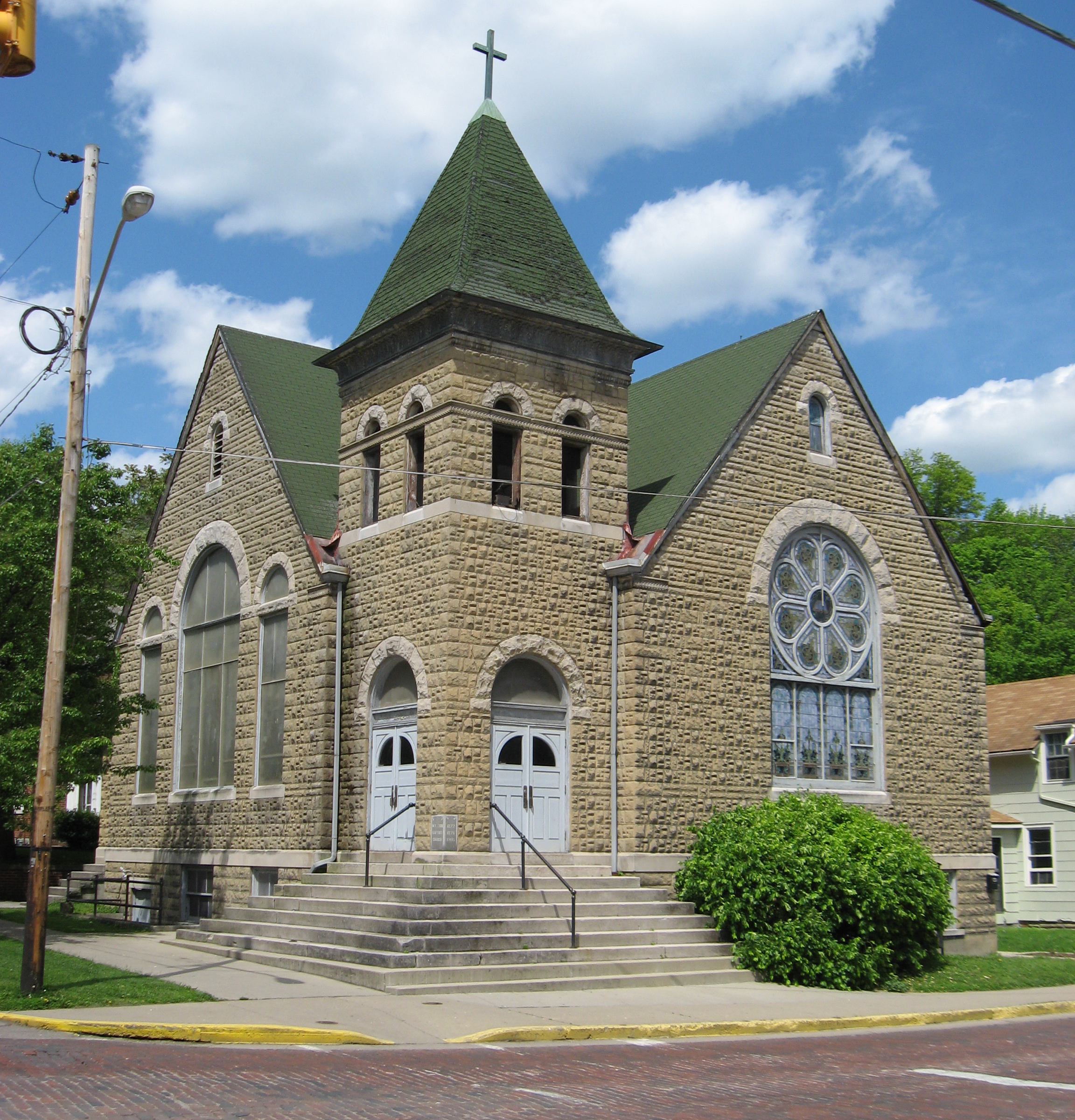 Olde West Chester (OH) United States  City pictures : Mt Zion Baptist Church Athens OH USA Wikimedia Commons