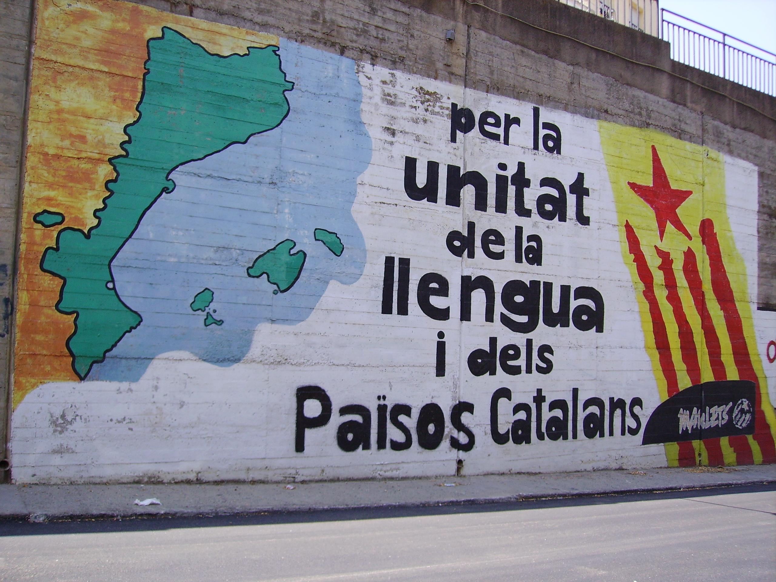 Resultat d'imatges de mural països catalans