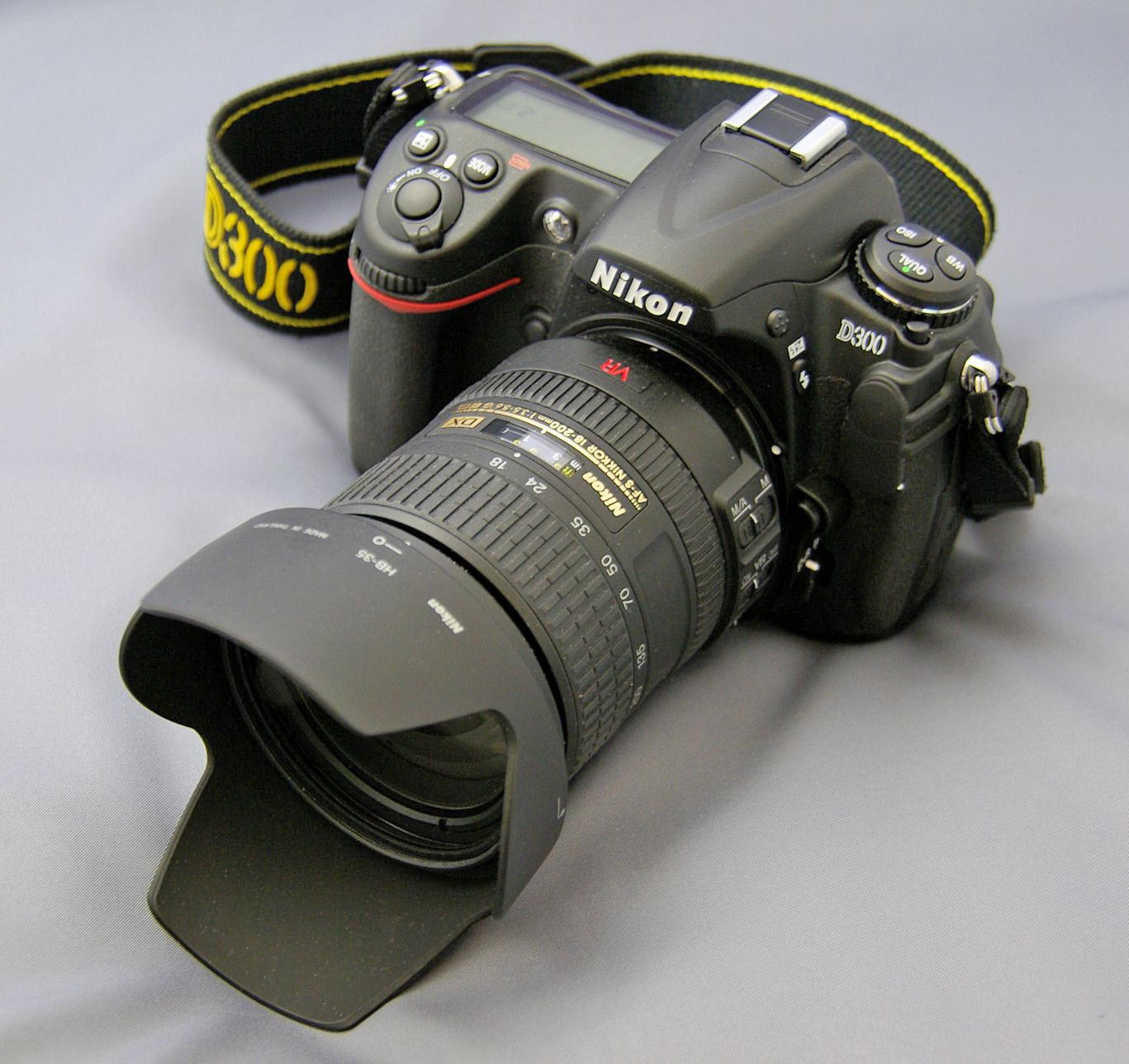 Lens 200mm Nikkor 18-200mm vr Lens