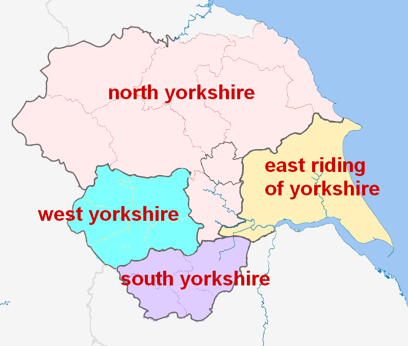 North,west,east&southyorkshire