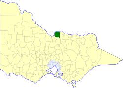 Shire of Nathalia Local government area in Victoria, Australia
