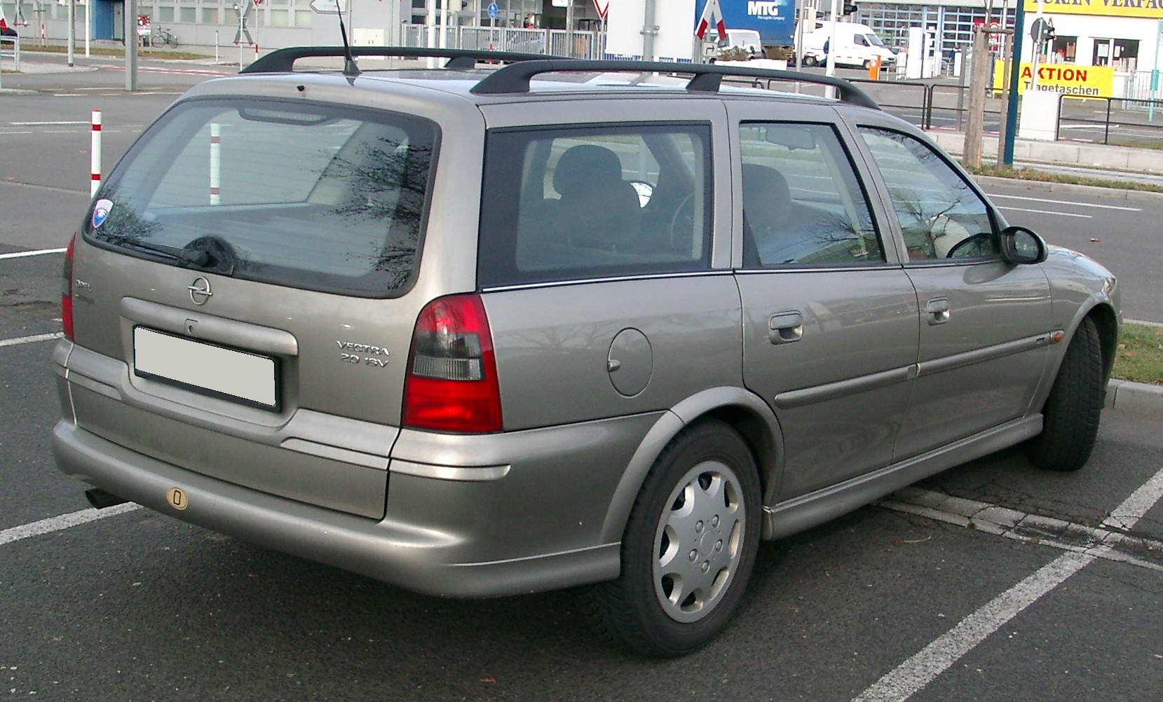 File Opel Vectra Kombi Rear 20080108 Jpg Wikipedia