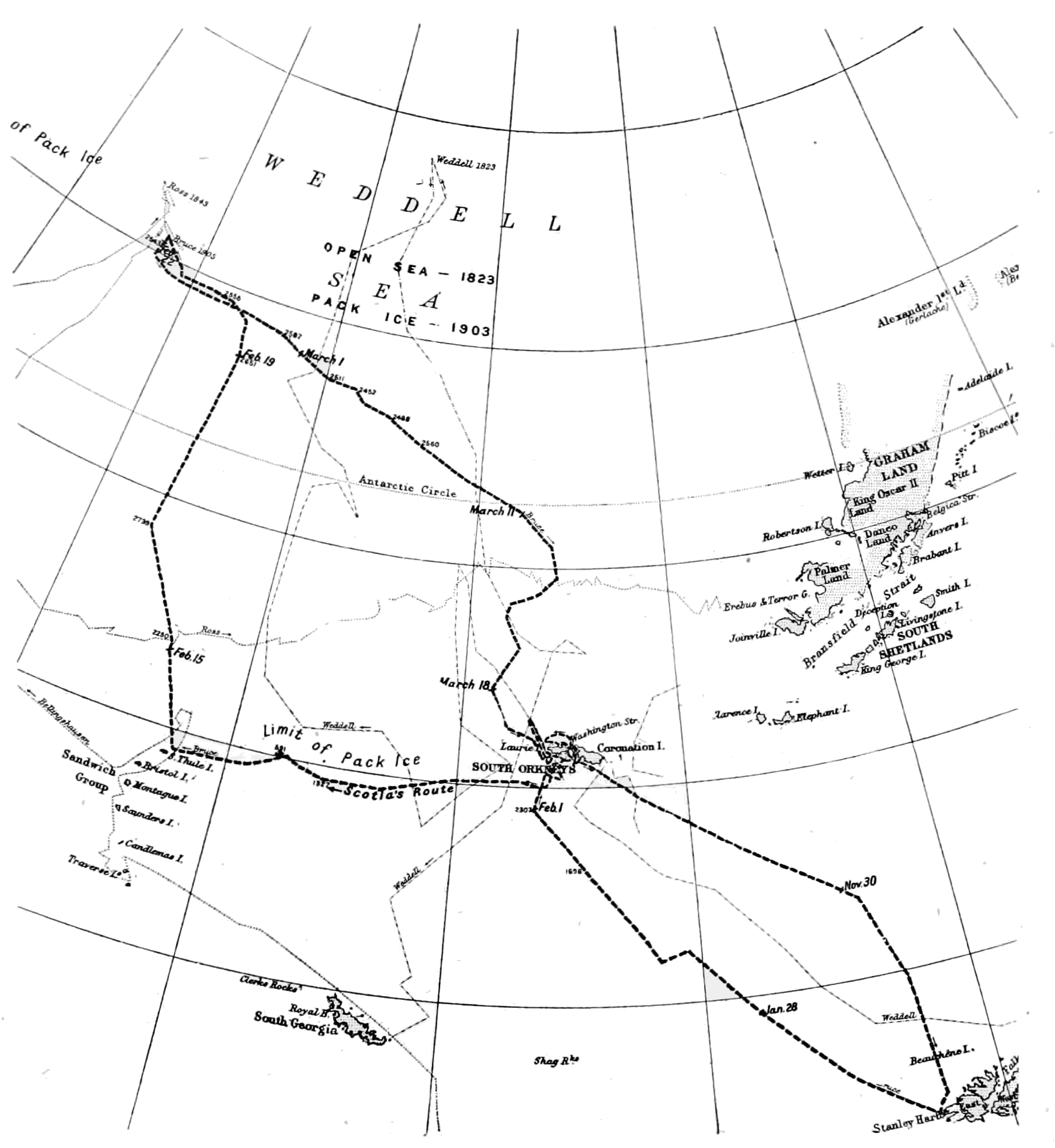 PSM V65 D092 Route of the scottish antarctic expedition.png